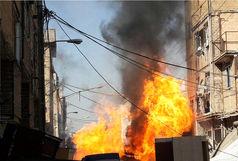 انفجار شدید در منزل مسکونی/ مصدوم و نجات یافته