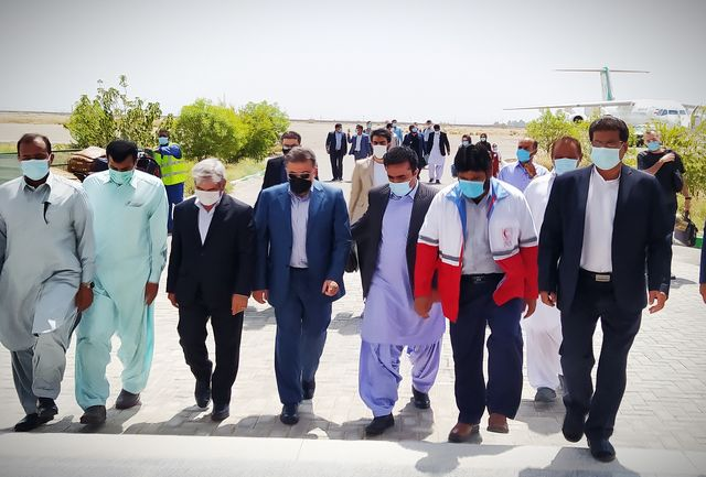 معاون ساماندهی امور جوانان وزارت ورزش و جوانان وارد ایرانشهر شد
