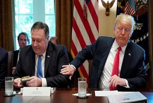 ترامپ در آستانه محاکمه و برکناری؛ پمپئو در حال تهدید ایران!