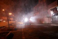 ادامه گندزدایی اماکن و معابر عمومی شهر قزوین