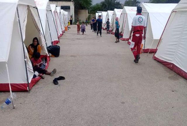 ۱۷۰ هزار نفر امداد رسانی شدند/آمار اسکان سیل زدگان خوزستان به ۱۲۳ هزار نفر رسید