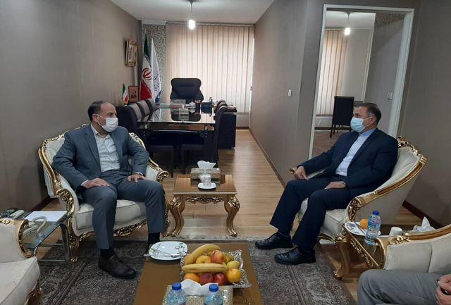 گفتگوی استاندار خراسان شمالی با سرکنسول جدید جمهوری اسلامی در آستراخان روسیه