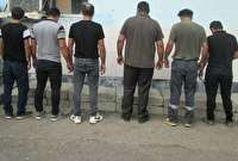 دستگیری عاملان بر هم زنندگان نظم عمومی
