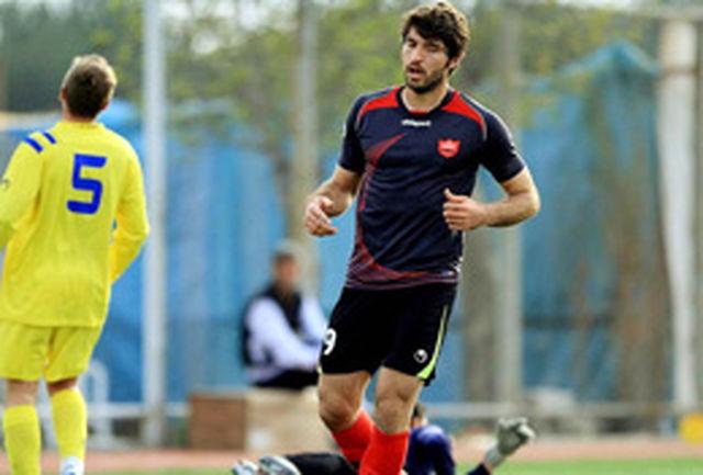 برد پر گل پرسپولیس مقابل تیم ملی نوجوانان در روز درخشش قاضی و انصاریفرد