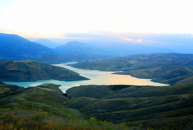 کاهش حجم آب مخازن سدهای آذربایجان غربی