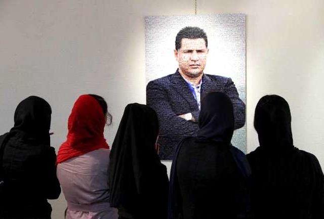 نمایشگاه نقاشی شهریار فوتبال ایران در اردبیل دایر شد