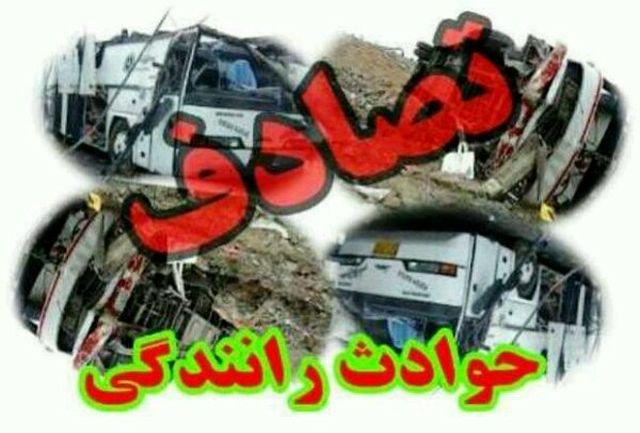 سانحه دلخراش رانندگی در جنوب سیستان و بلوچستان /۷ نفر در دم جان باختند