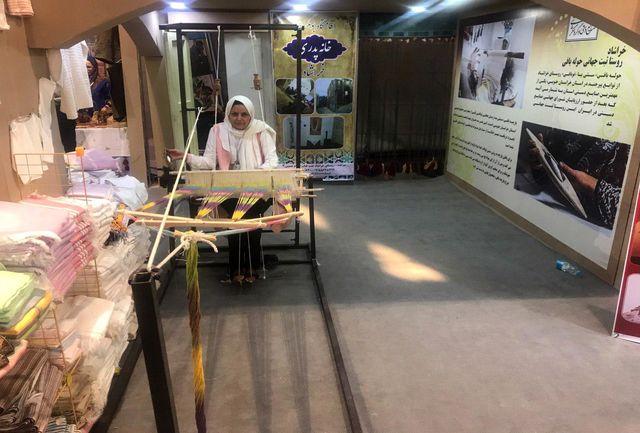 افتتاح فروشگاه بزرگ صنایع دستی آبگرم فردوس
