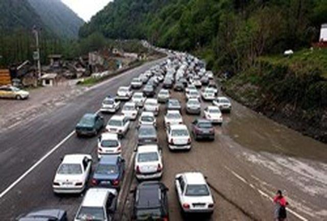 محدودیت تردد در جادههای مازندران به تهران