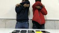 دستگیری سارقان تلفن همراه با اعتراف به 12 سرقت در بندرماهشهر
