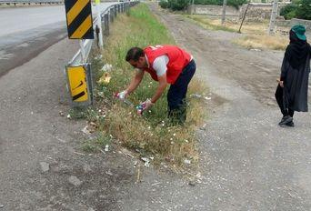 پاکسازی مسیر اردبیل-سرعین
