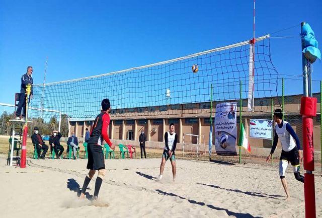 نفرات برتر والیبال ساحلی سیستان و بلوچستان معرفی شدند