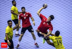 برتری تیم ملی هندبال ایران در نخستین گام