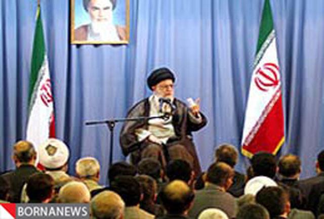 دیدار مسوولان نظام جمهوری اسلامی با رهبر انقلاب