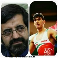 استاندار اردبیل قهرمانی بهرام معروفخانی را تبریک گفت