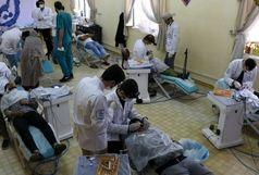 خدمات درمانی به مردم فیروزآباد کرمانشاه ادامه دارد