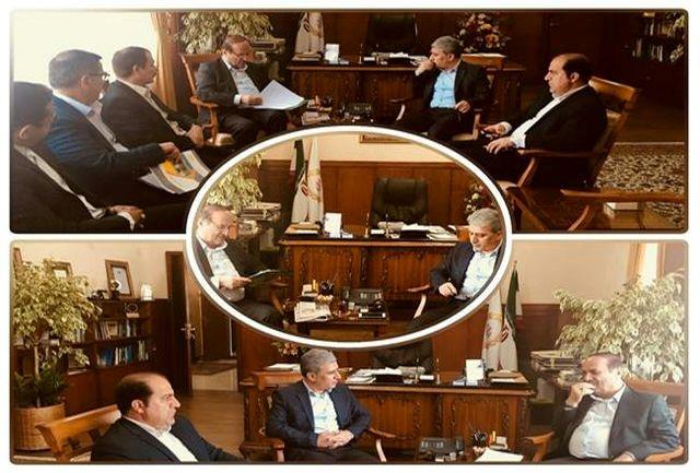 دیدار استاندار ایلام با مدیرعامل بانک ملی کشور