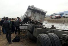 حادثه رانندگی در محور قدیم ساوه - همدان  یک کشته بر جای گذاشت