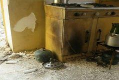 انفجار سیلندر گاز در زاهدان پنج نفر را مصدوم کرد