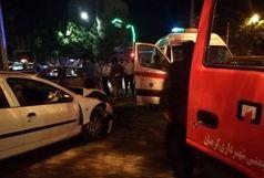 تصادف در محور هفتباغ ۳ کشته برجا گذاشت