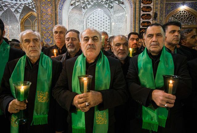 آیین خطبه روز بعد از تدفین آیت الله واعظ طبسی برگزار شد