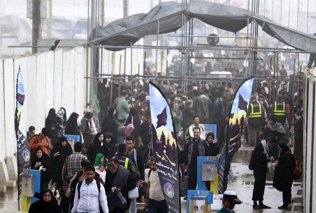 بیش از 181 هزار زائر ایرانی و خارجی از مرز شلمچه به کشور بازگشتند
