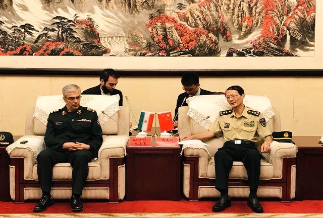 نیروهای مسلح ایران و چین روابط خوبی با یکدیگر دارند / دانشگاه دفاع ملی ایران آماده انتقال تجربیات خود به دانشگاه دفاع ملی چین است