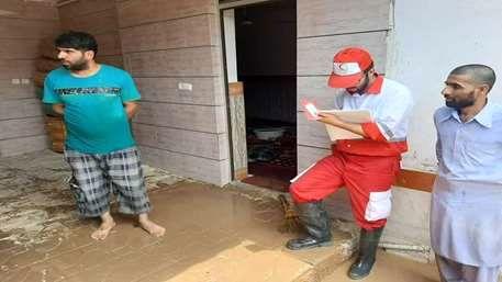 ارائه خدمات امدادی به ۵۶۸ حادثه دیده در آبگرفتگی شرق گلستان