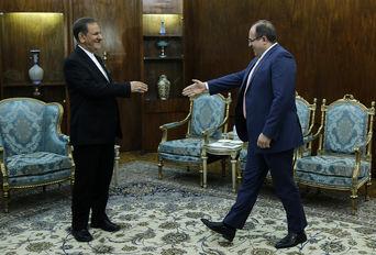 دیدار وزیر تجارت و اقتصاد سوریه با معاون اول ریاست جمهوری