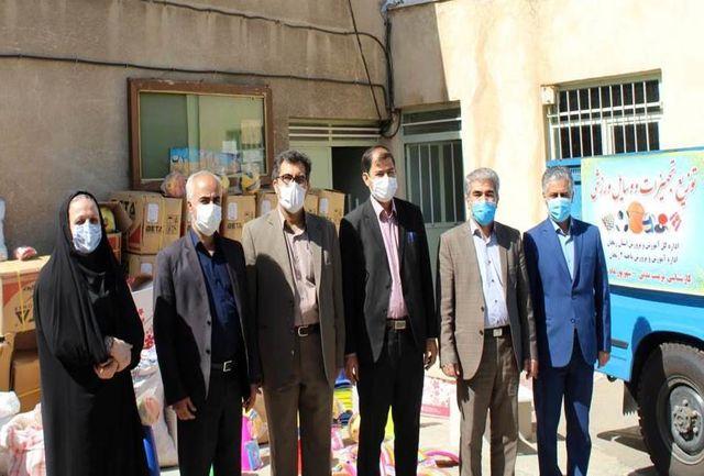 اعزام کاروان تجهیزات ورزشی به سراسر استان زنجان