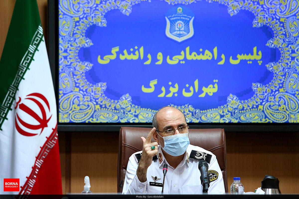 واکنش رئیس پلیس راهور تهران به شکایت عنابستانی