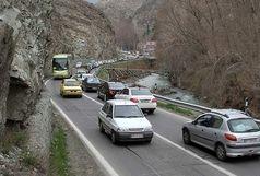 تردد یکطرفه جادههای چالوس و هراز لغو شد