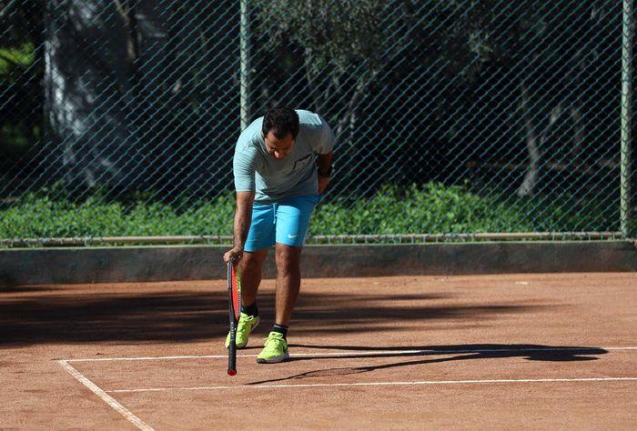 پایان رقابتهای تنیس پیشکسوتان در کیش+تصاویر