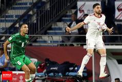 جهانبخش: عراق، غیرفوتبالی بازی کرد/ همین که صدر جدول هستیم خوب است