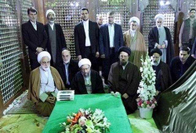 تجدید میثاق مسئولان عالی قضایی با آرمانهای امام خمینی (ره)