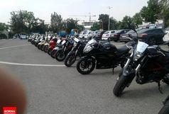 ضبط 100 دستگاه موتور سیکلت قاچاق از ابتدای سال
