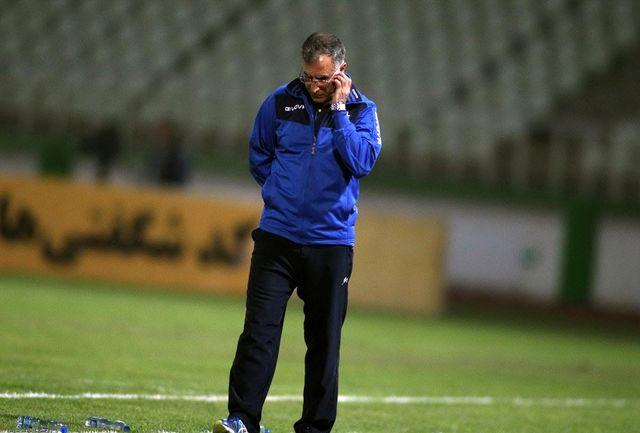جلالی: یکی از تلخترین روزهایی بود که در فوتبال داشتم/ ما مستحق چنین نتیجهای نبودیم