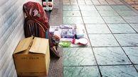 اهدای مواد ضدعفونی کننده به کودکان کار در روزهای کرونایی