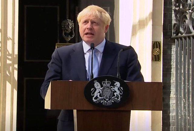 جانسون تصمیم گیری درباره تاخیر برگزیت را به عهده اتحادیه اروپا گذاشت