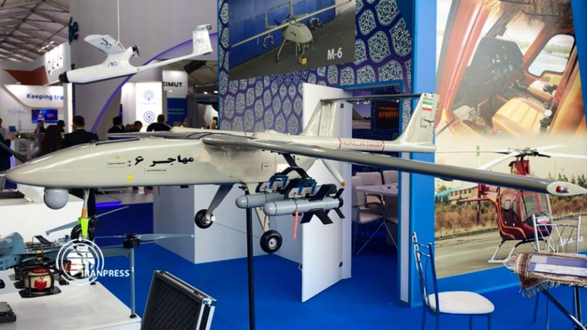 نمایش توانمندیهای هوایی ایران در نمایشگاه ماکس روسیه