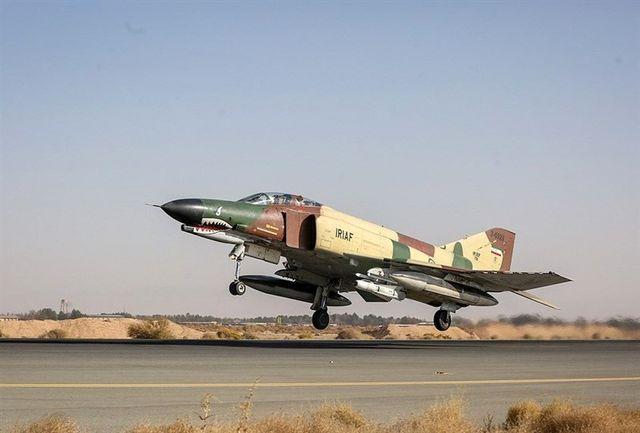 یک جنگنده نیروی هوایی در چابهار سقوط کرد