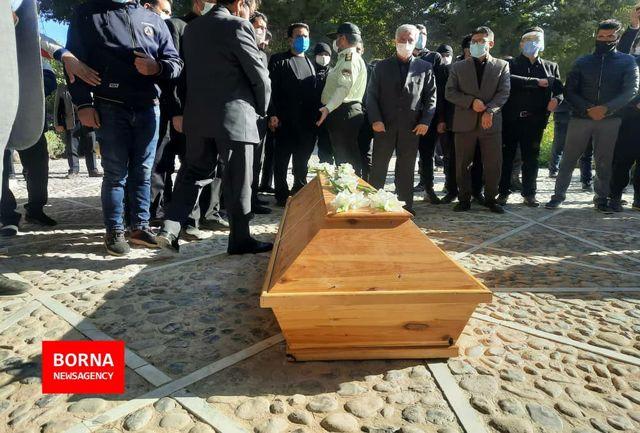 مراسم خاکسپاری استاد شجریان آغاز شد