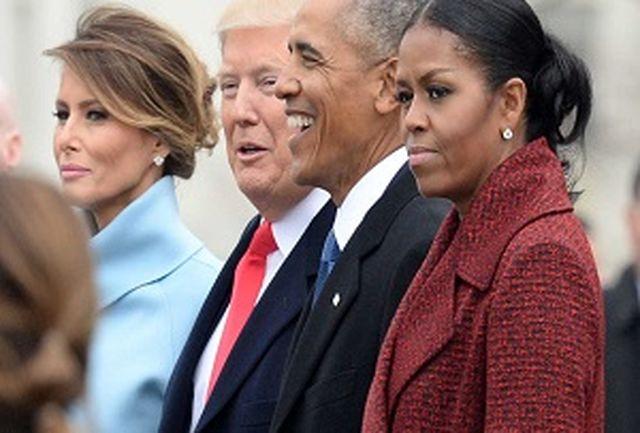 میشل اوباما: هرگز ترامپ را نمیبخشم!