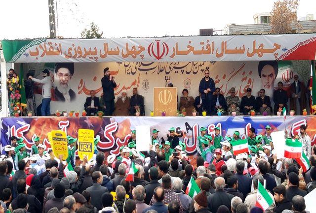 تجدید عهد مردم سمنان با انقلاب اسلامی