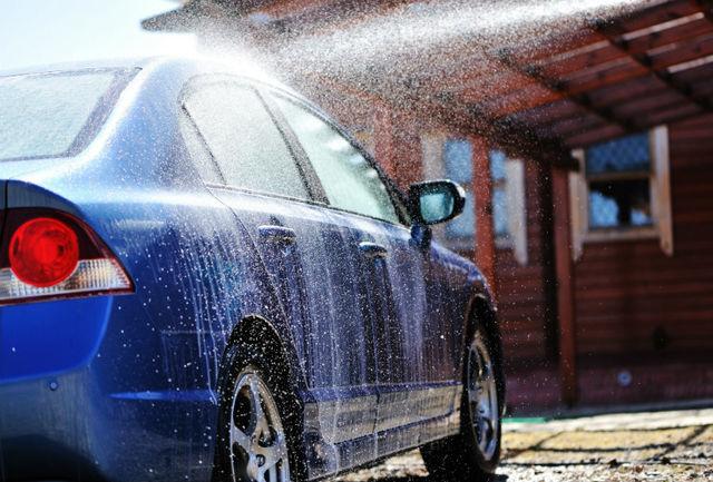 آموزش صحیح شستشوی خودرو فقط با ۴ سطل آب