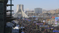 راهپیمایی۲۲ بهمن در تهران -۳