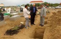 بازدید رئیس آرامستانهای یزد از آرامستان بندرعباس
