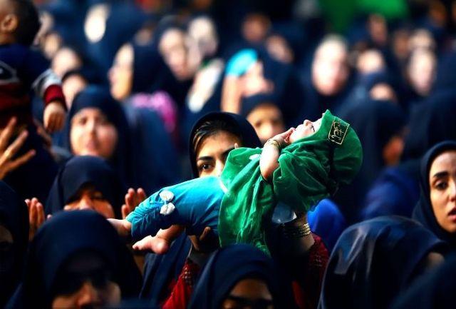 همایش شیرخوارگان حسینی در سطح استان سیستان و بلوچستان برگزار شد