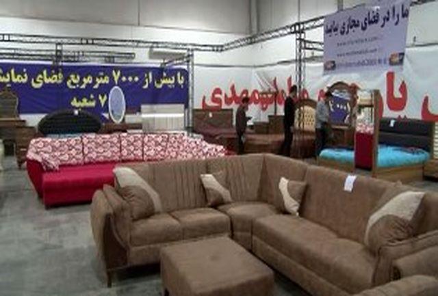نمایشگاه کالاهای ایرانی در قائمشهر