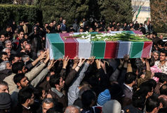 پیکر جانباز سرافراز استان مرکزی در اراک تشییع شد